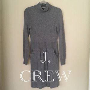 J Crew • Wool Dress • Heather Gray • Flawless
